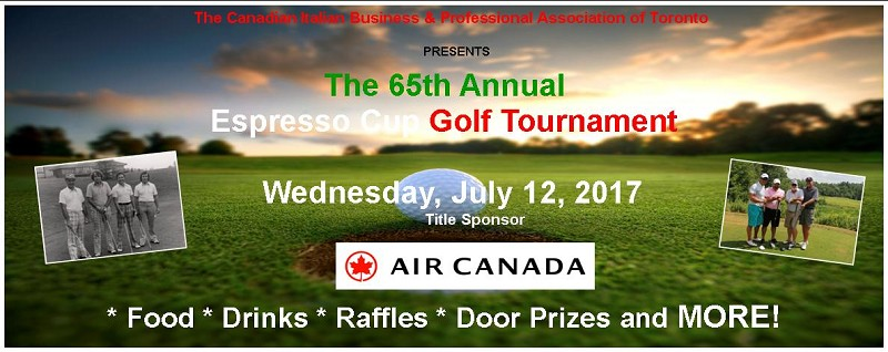 CIBPA Espresso Cup Golf Tournament